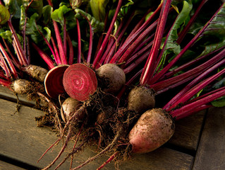 Roasted Beets and Sweet Potatoes Recipe
