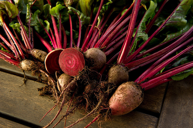 Roasted Beets, Carrots, and Fennel