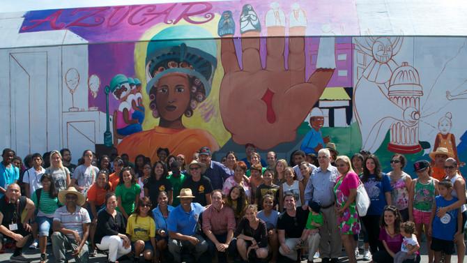 Recap of Community Painting Day last Friday!
