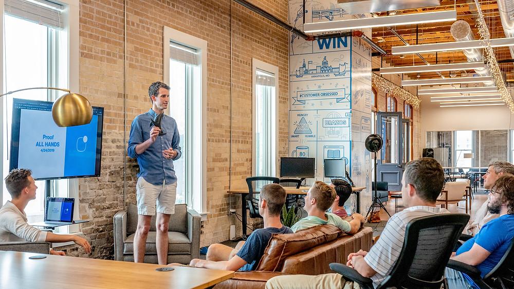 sales pitch presentation