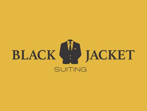 Presentation Design for Black Jacket Suiting