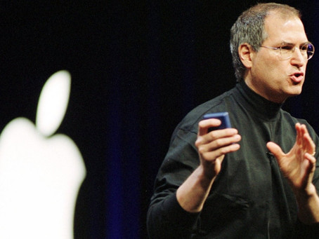 Presentation inspiration from Steve Jobs