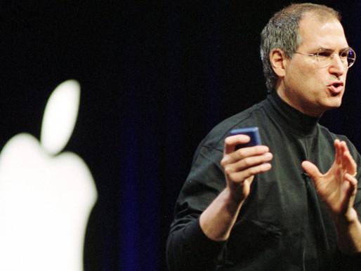 Presentation inspiration from Steve Jobs
