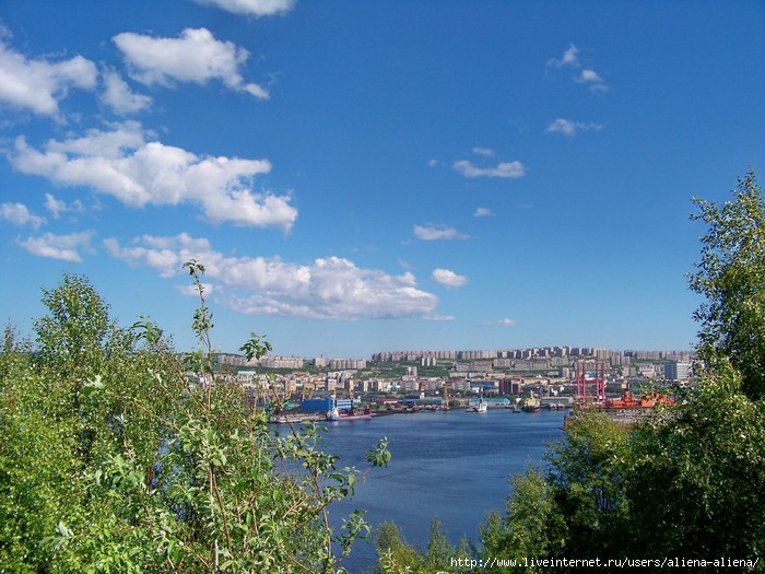 Abram-Mys Murmansk view
