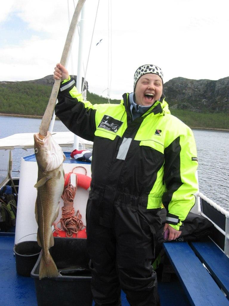 Морская рыбалка в Киркенесе 12