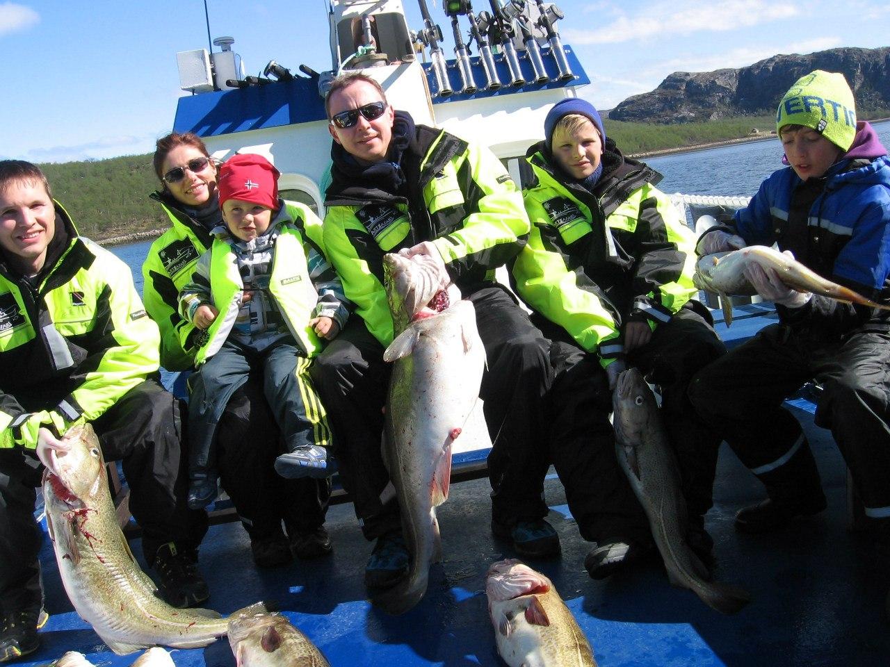 Морская рыбалка в Киркенесе 11