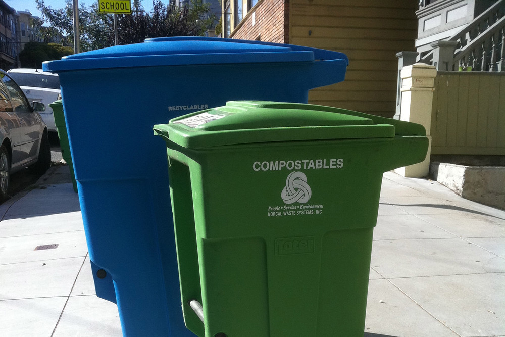 """""""Curbside Composting!"""" by Becky Striepe is licensed under CC BY-SA 2.0"""