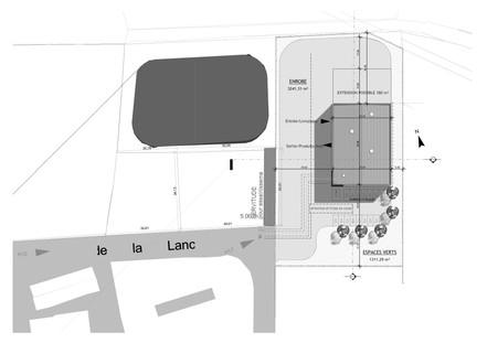 Plan d'architecture