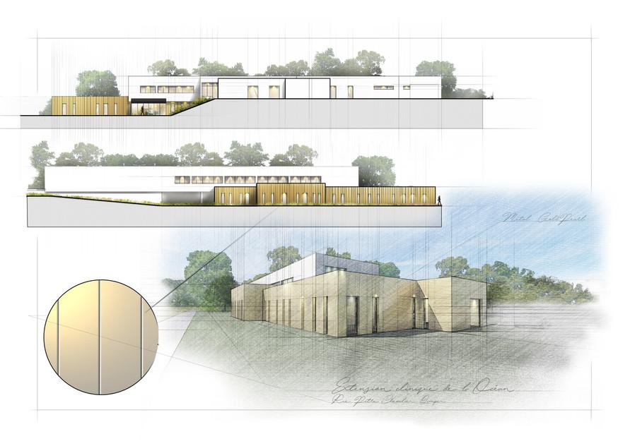 Perspectives pour projet d'architecture