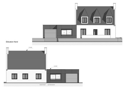 Coupe projet architecture