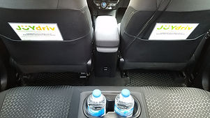 Toyota Prius Hybrid Rental Uber Lyft with Bottled Water, charging cables