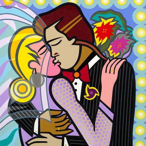 Wedding Kiss 36X36.jpg
