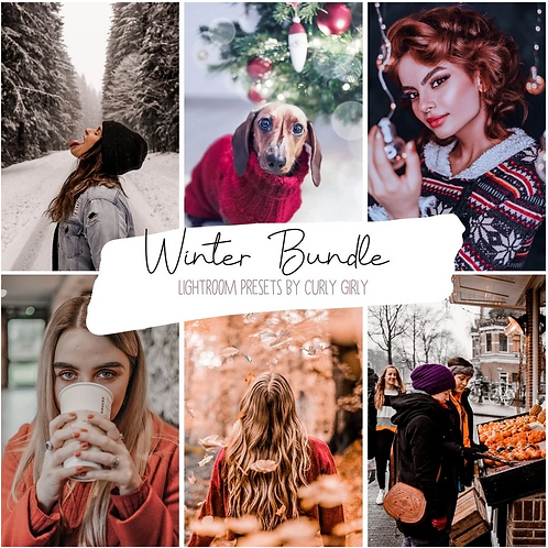 Winter Pack ~ Lightroom Mobile Preset Bundle