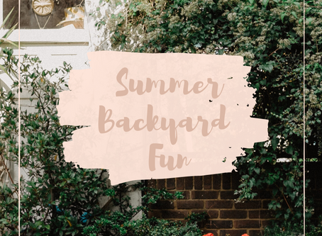 How To Enjoy Summer From Your Backyard
