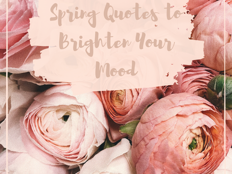 Spring Quotes to Brighten Your Mood