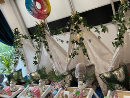 What's not to love about our new Tropical Jungle theme? Book yours today!