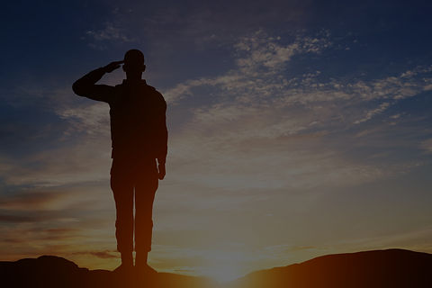 Soldier%20salute.%20Silhouette%20on%20sunset%20sky.%20War%2C%20army%2C%20military%2C%20guard%20conce