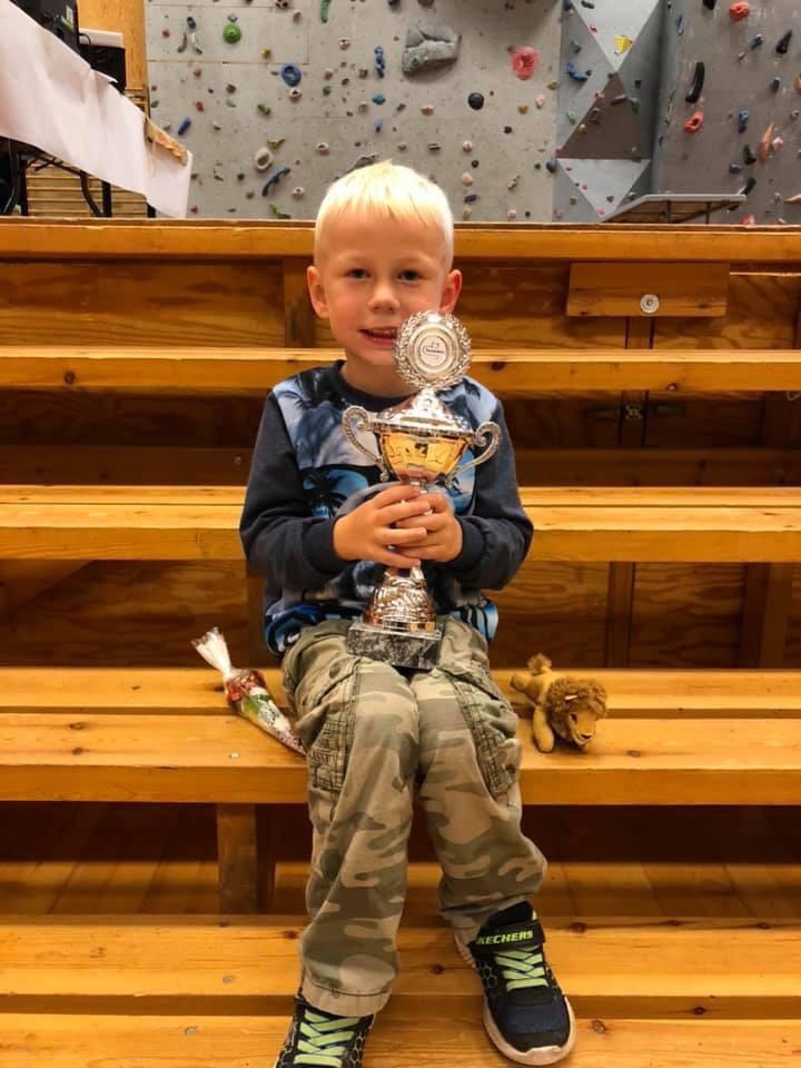 Frederik got a 1st place