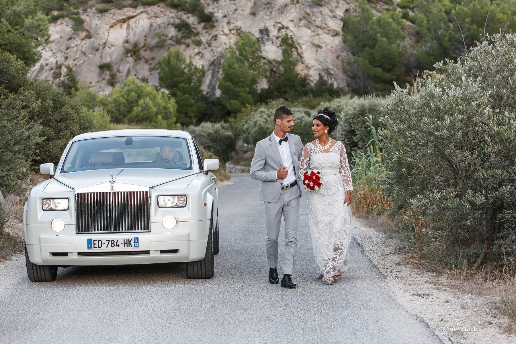 Photographe de mariage à Marseille -