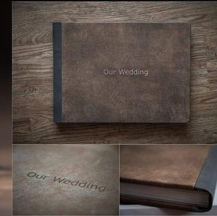 Livre de mariage vintage photographe de mariage a marseille