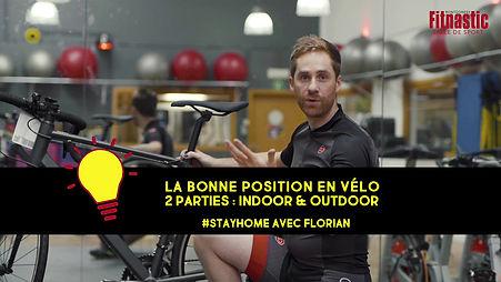 La bonne posistion en vélo indoor et outdoor
