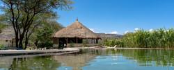 Pool Maasai Giraffe Eco Lodge, Lake Natron, Tanzania