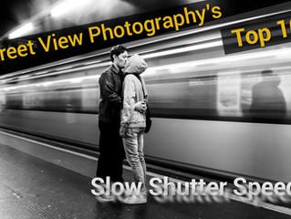 Top 10: Slow Shutter Speed