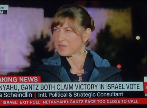 CNN Connect the World - Israeli Election Night