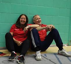 Linda Strachan and Pierre Harper