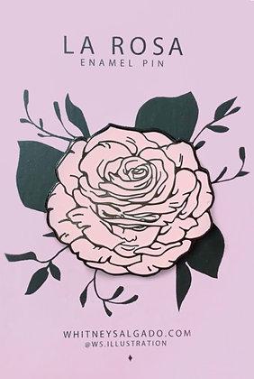 La Rosa Enamel Pin
