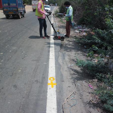 CABLE LOCATING SURVEY AT DELHI