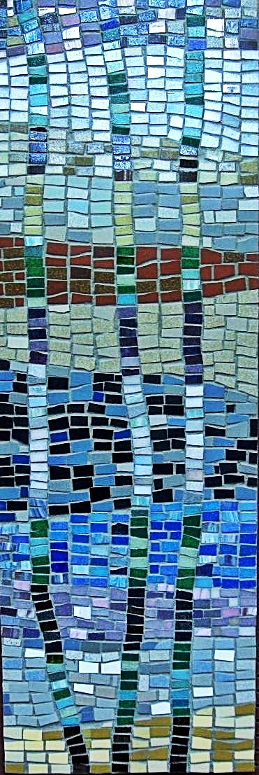 Abstract Mosaic by Claire Costello