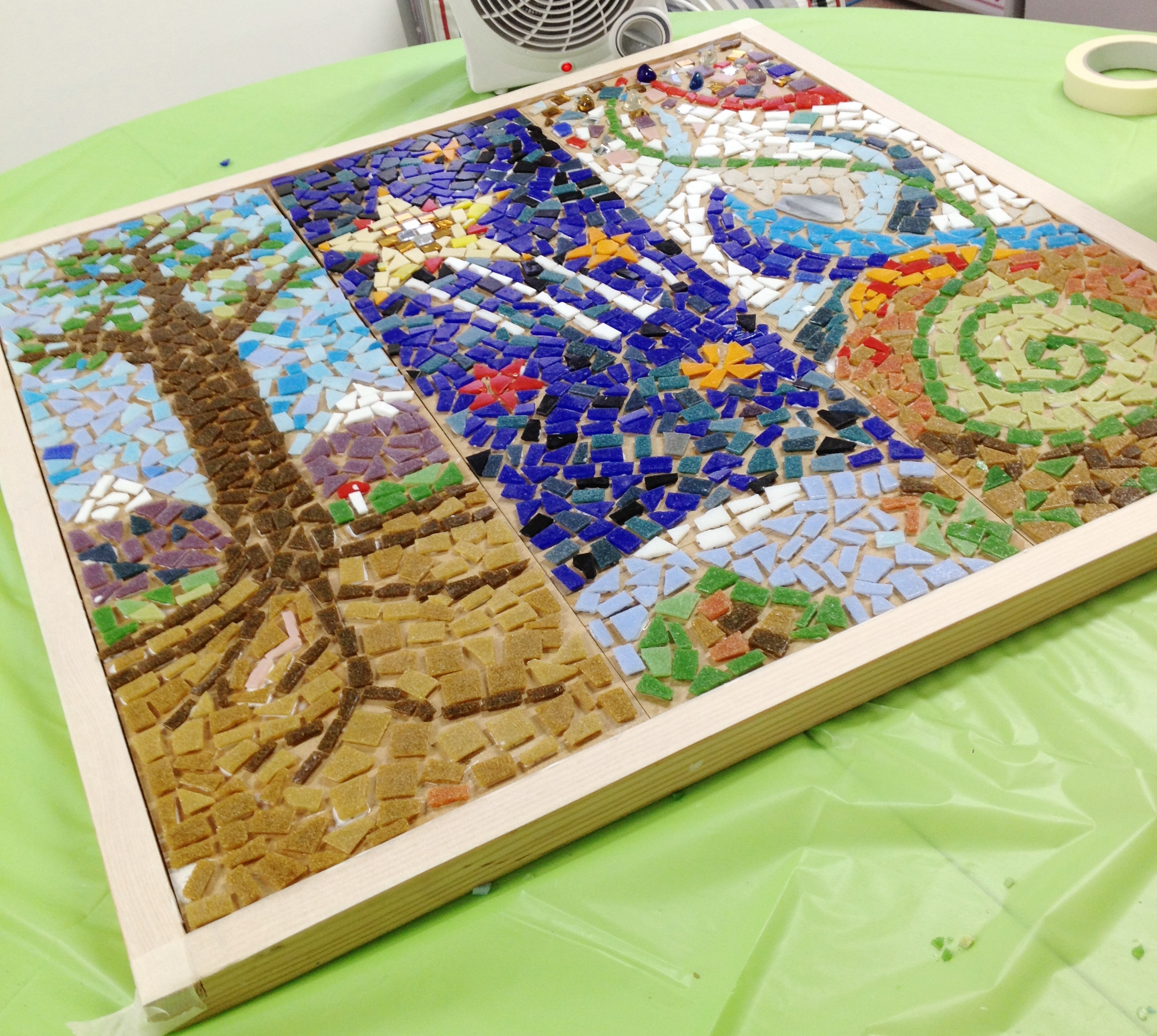 Collaborative Mosaic Project Claire Costello
