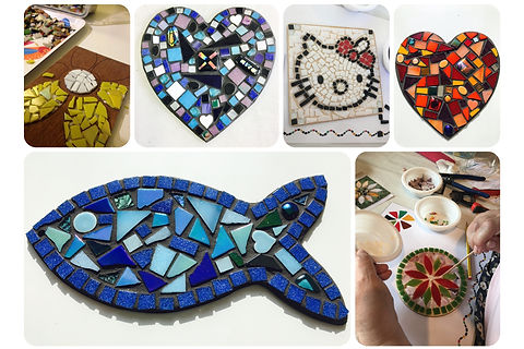 Taster Mosaic Workshops Claire Costello