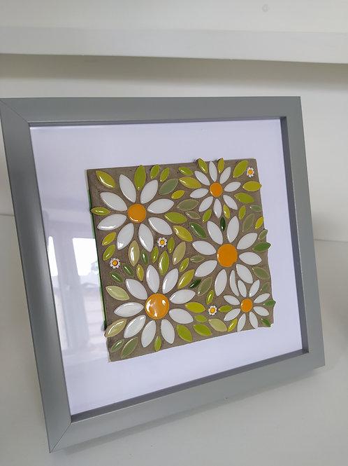 Daisy Ceramic Mosaic