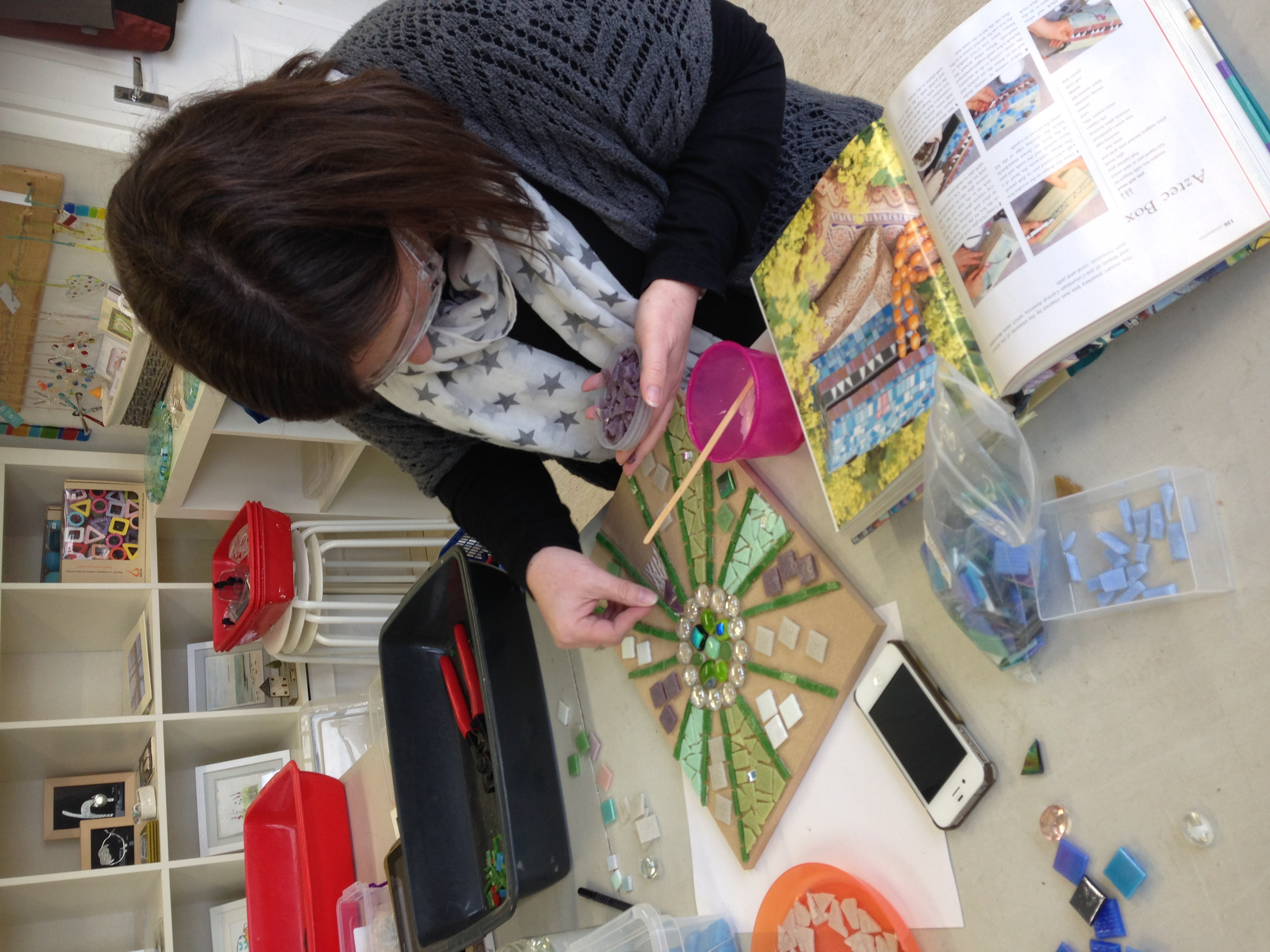 Mosaic Workshop Hertford 16
