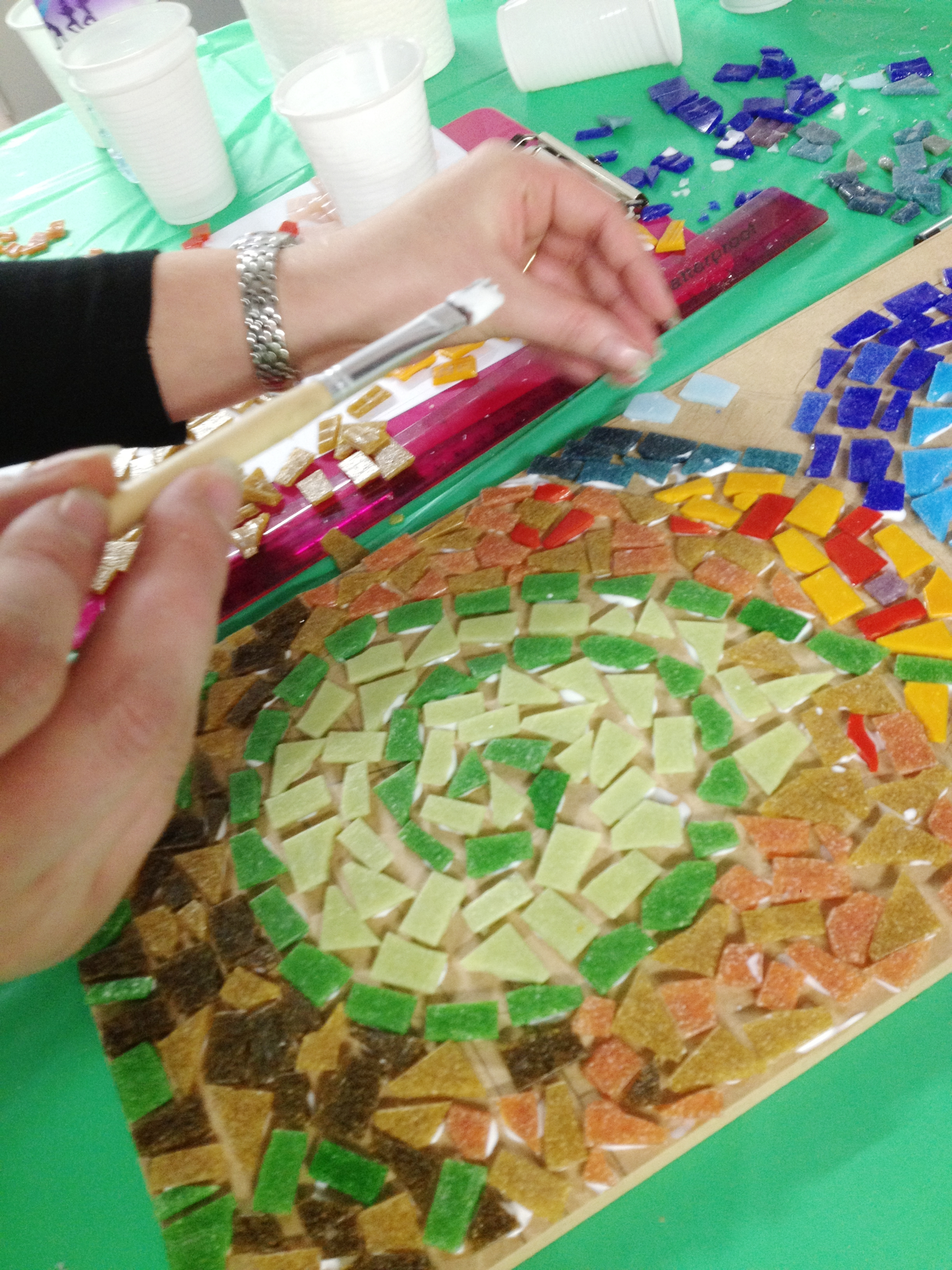 Mosaic Workshop Claire Costello Hertford