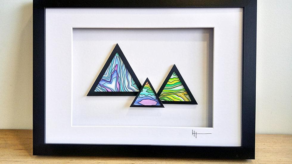 Mountain Peak Large Artwork