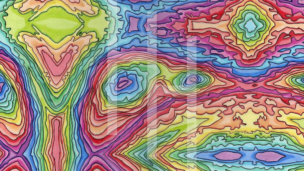 Rainbow up Pen-y-ghent
