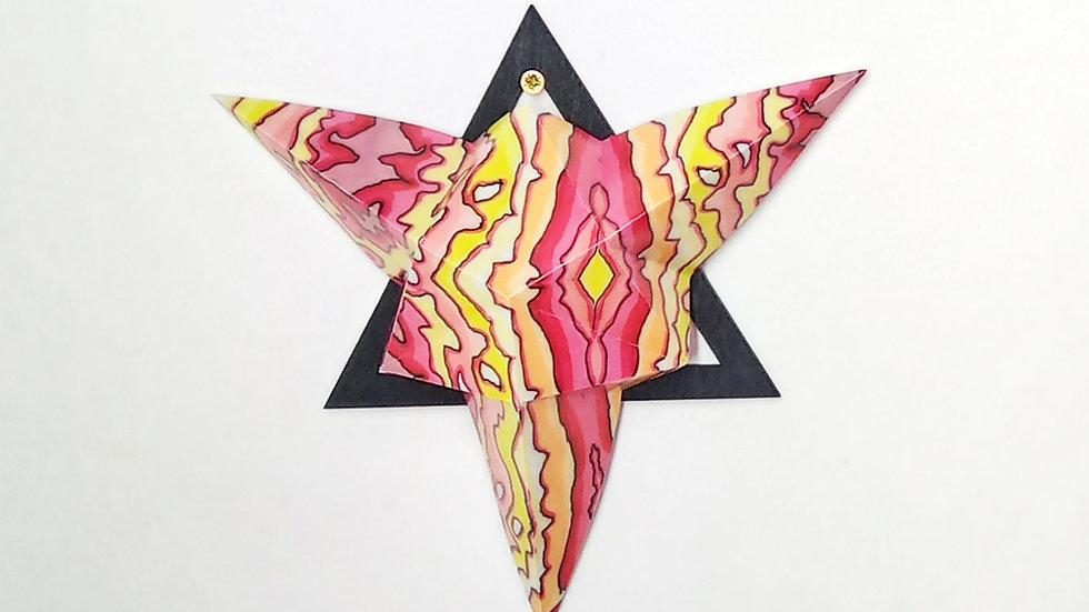 Fire on Top Ingleborough Large Star
