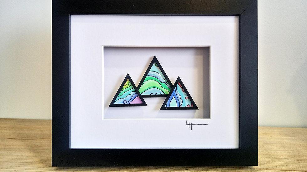 Mountain Peak Small Artwork