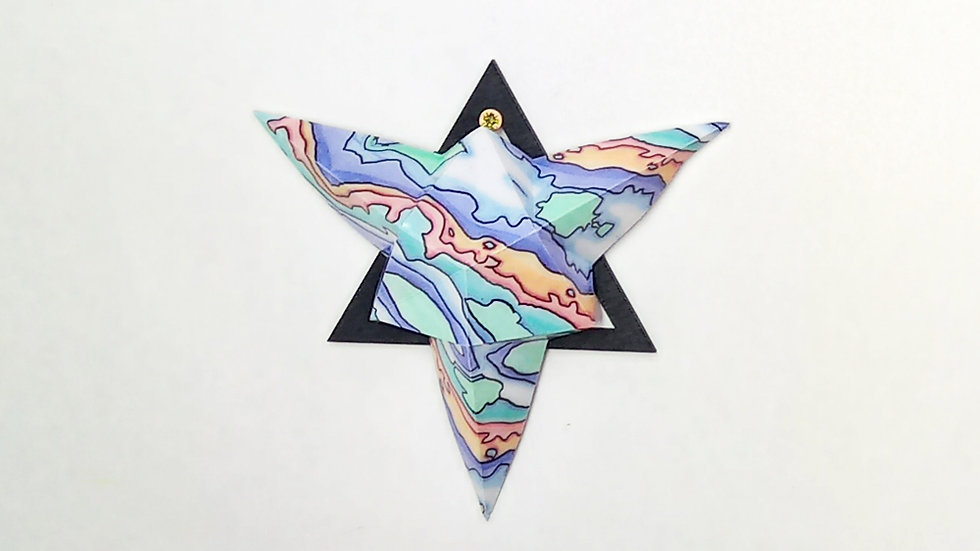 Coastal Blues Pen-y-ghent Small Star