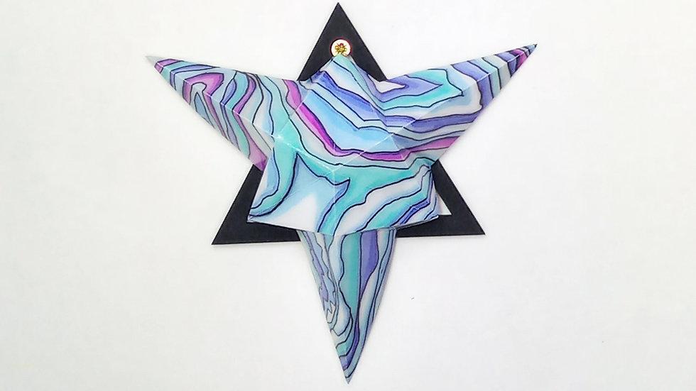 Calm Blue up Whernside Small Star