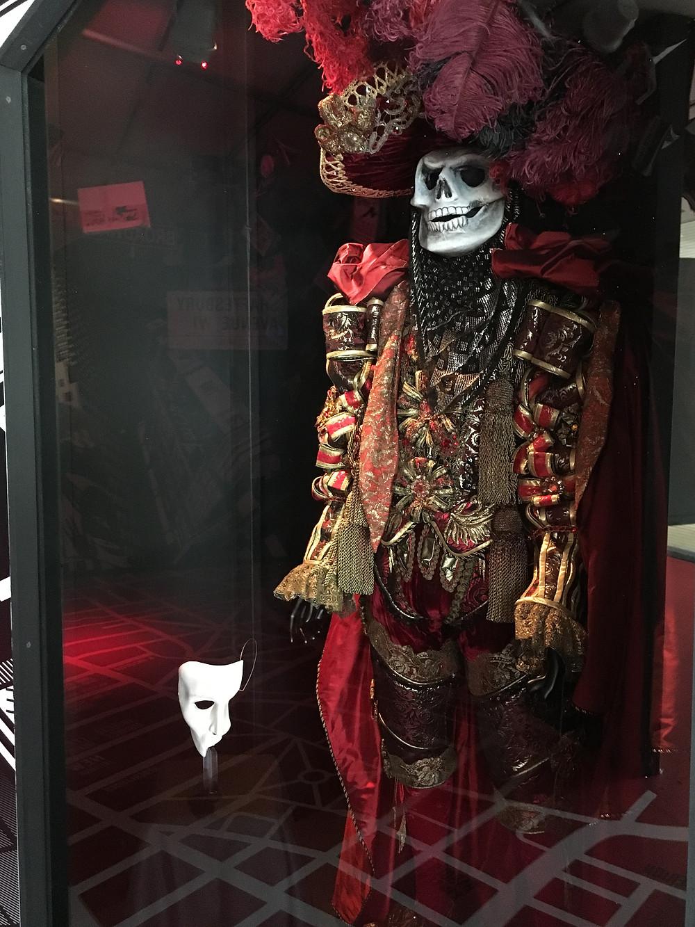Masquerade costume from Phantom of the Opera