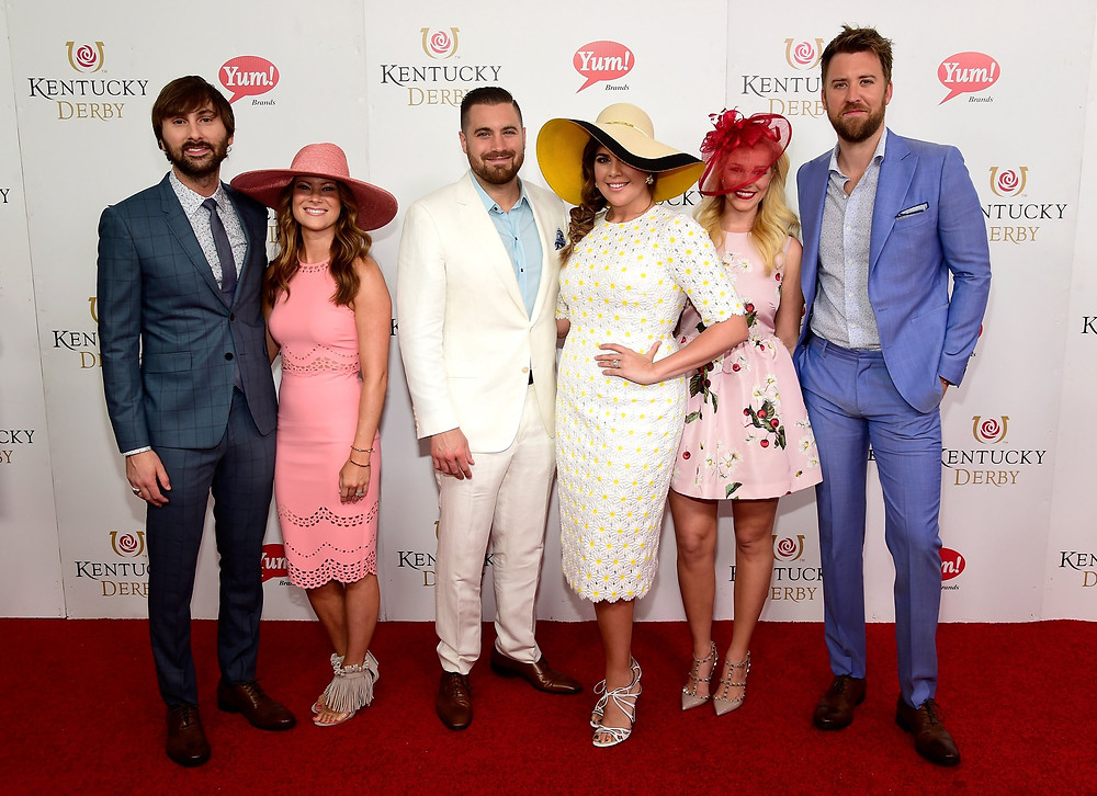 Lady Antebellum at the 2016 Kentucky Derby