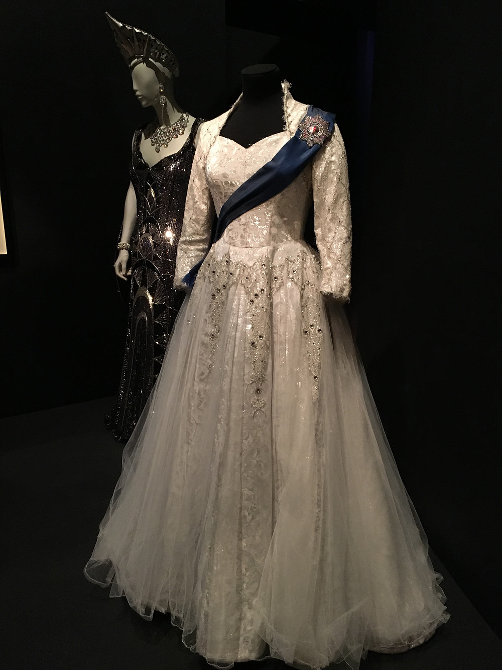 Helen Mirren's dress from The Audience