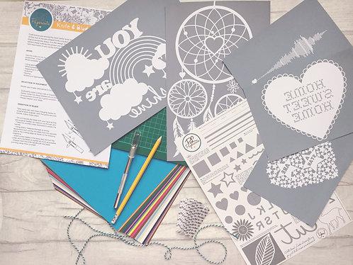 Quickstarter DIY Papercutting Kits