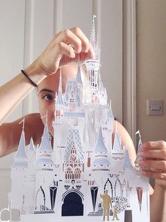 'Cut out Cinderella's Castle'zsaq