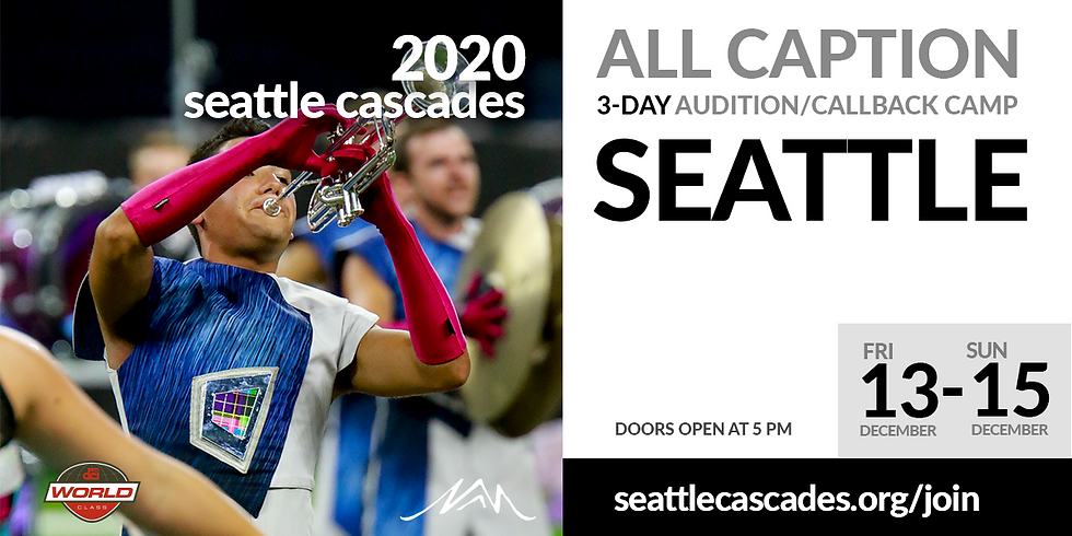 2020 All Caption Audition Camp (Seattle WA)