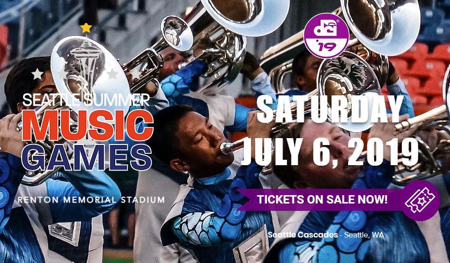 Seattle Summer Music Games, Saturday July 6, Renton, WA